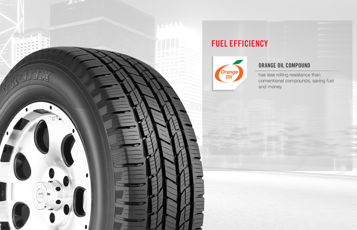 Yokohama YK-HTX tire benefits