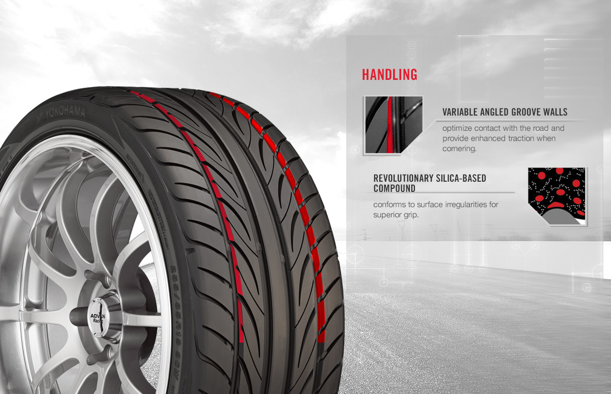 Yokohama S.Drive tire benefits