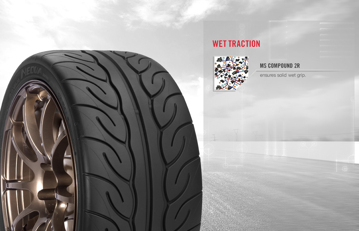 Yokohama ADVAN NEOVA AD08R tire benefits