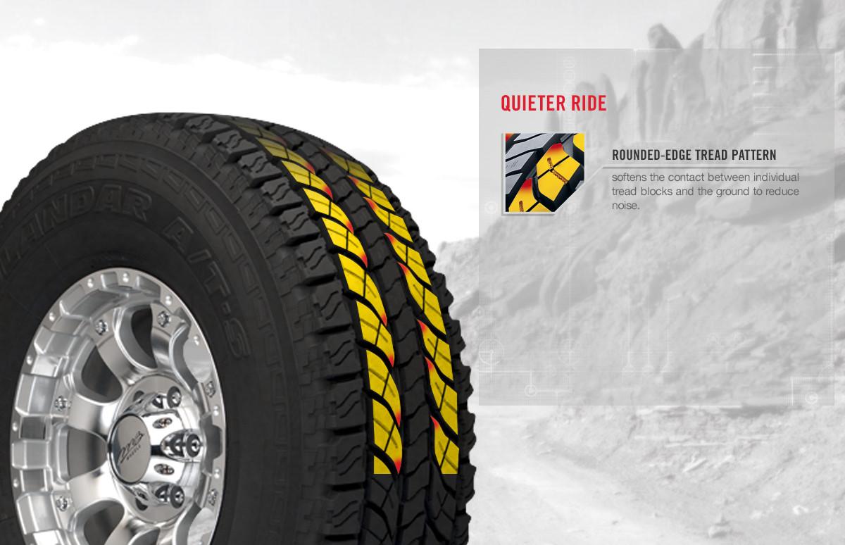 Yokohama GEOLANDAR A/T-S tire benefits